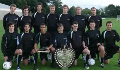 University of Stirling First XI with the Queen's Park Shield