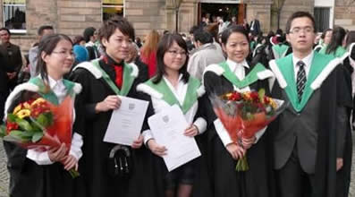 Students celebrate their degree awards