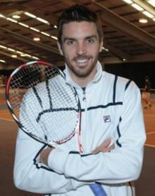 Colin Fleming was busy training at the University