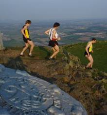 The Dumyat Hill Race provides a steep challenge