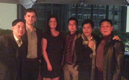 Lindsey Donald, Head of Development and Alumni Services, attended an alumni reunion in Hong Kong
