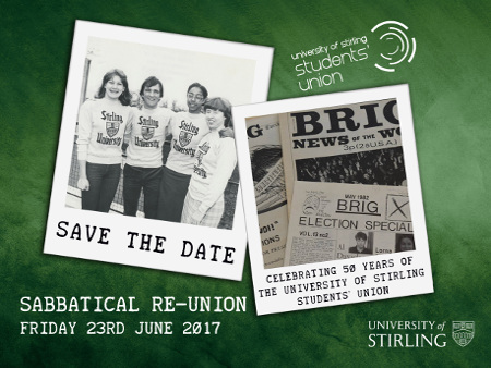 Image to accompany Students' Union Sabbatical reunion event