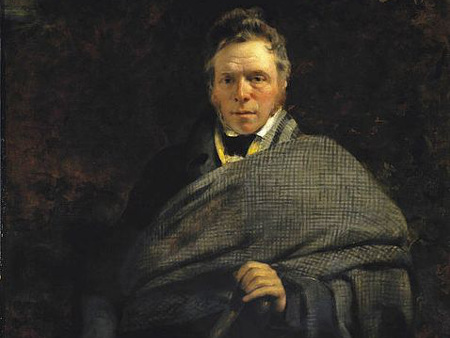 Image to accompany James Hogg printing workshop with reading by author James Robertson event