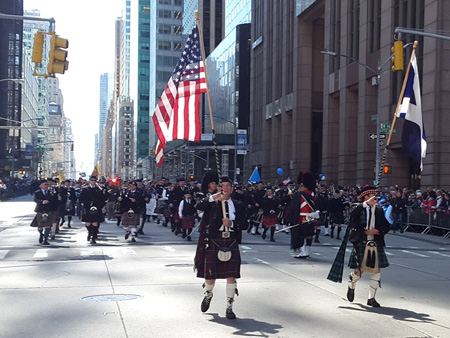 Image to accompany Tartan Day Parade in New York event