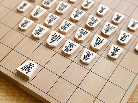 Image to accompany Try your hand at Shogi 将棋(Japanese Chess) event