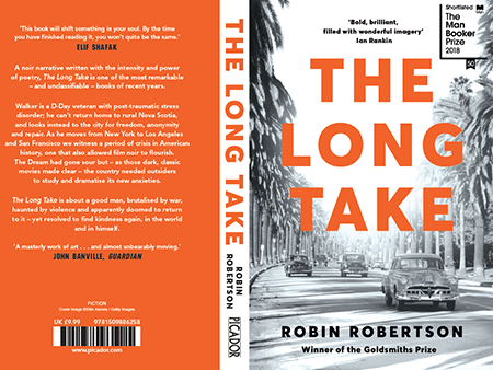 Image to accompany The Booker Prize Foundation Universities Initiative with author Robin Robertson event