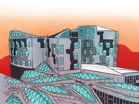 Image to accompany The new Scottish Parliament at Twenty event
