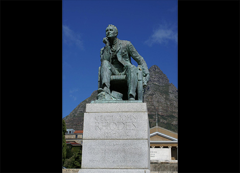 Image to accompany After the #fall: The shadow of Cecil Rhodes at the University of Capetown event