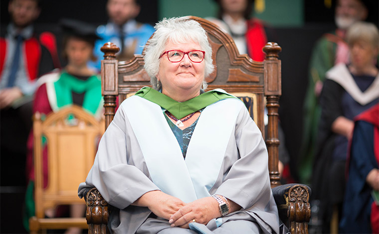 Dame Anne McGuire honorary graduate