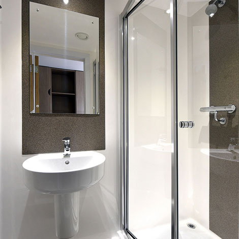 Beech Court shower room