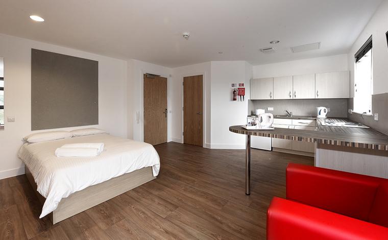 Beech Court Studio Bedroom