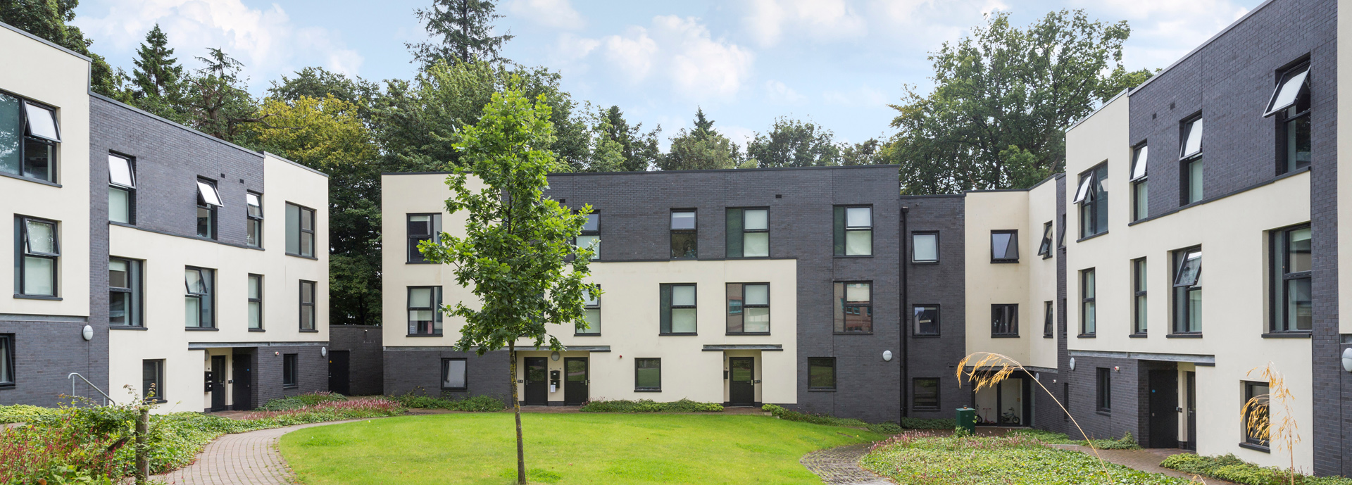 Alexander Court family flats accommodation,  University of Stirling