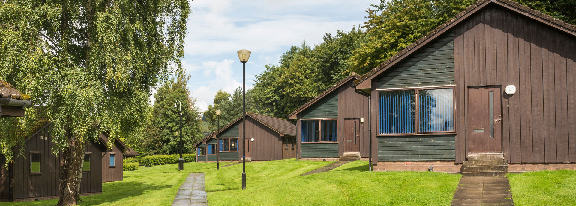 Spittal Hill accommodation,  University of Stirling
