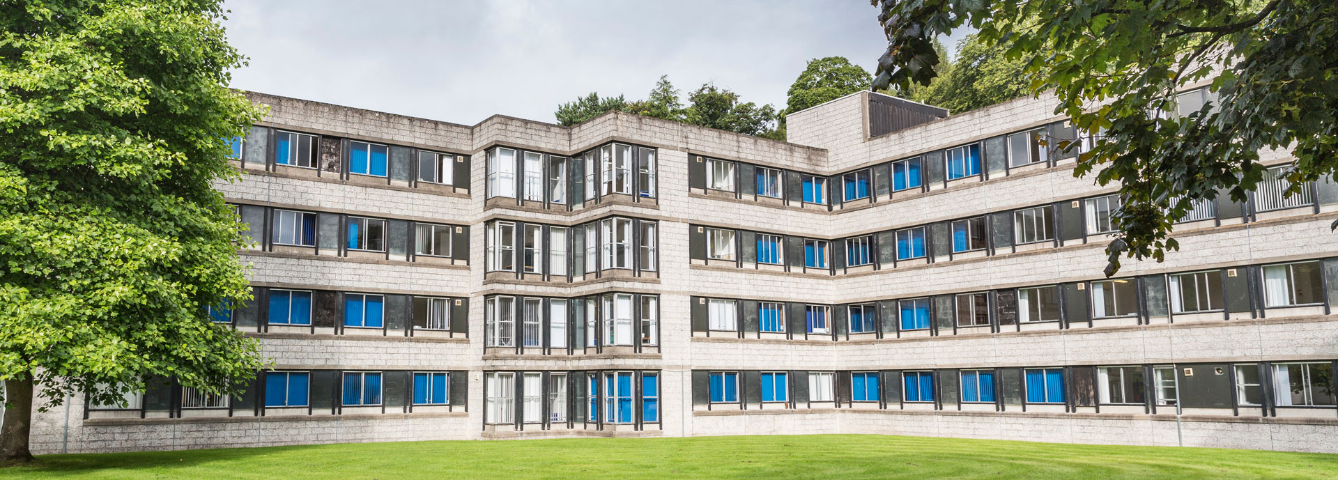 Muirhead House accommodation,  University of Stirling