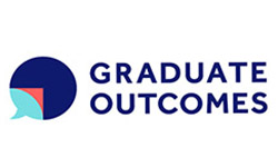 Graduate outcomes survey logo by HESA