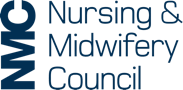 Nursing Midwifery Council logo