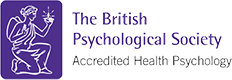 The British Psychological Society accreditation logo for Health Psychology