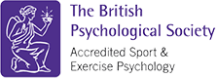 The British Psychological Society accreditation logo for Sport Exercise Psychology