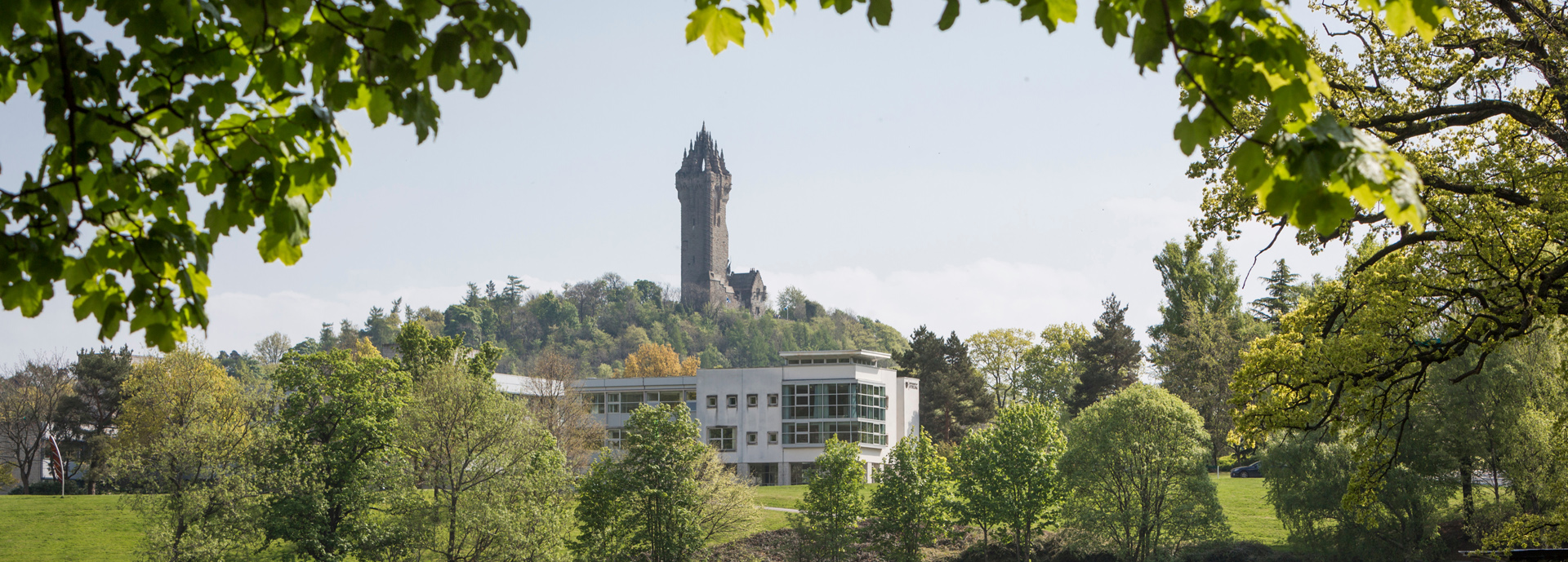 university campus wallace monument