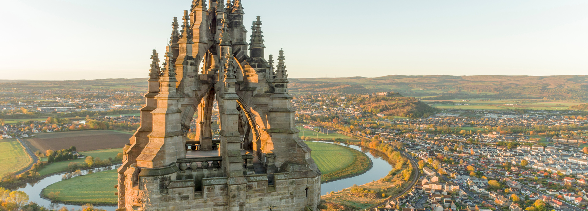 wallace monument and stirling