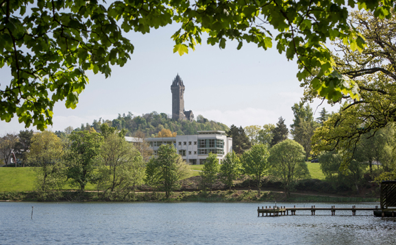 campus and wallace monument