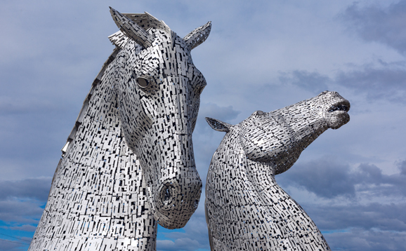 kelpies sculptures