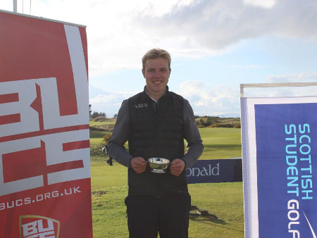 Double victory at Dundonald for Stirling golfers