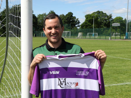 Geddes graduates to top job at University of Stirling FC