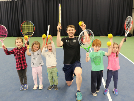 Murdoch swaps trunks for tie-breaks to promote summer of sport at Stirling