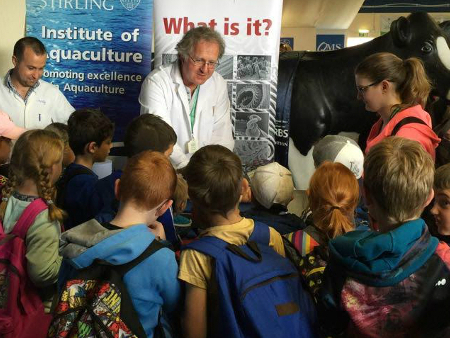 Aquaculture experts make a splash at Royal Highland Show