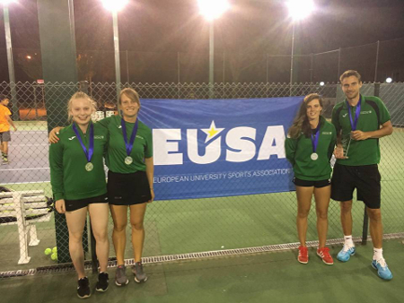 Madrid magic as tennis stars serve up silver medal at European Championships