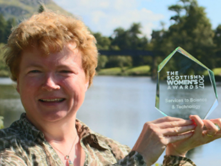 Stirling academic wins at the Scottish Women's Awards