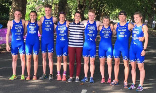 Triathlon Scotland Mixed Relay Team Nottingham