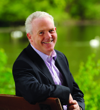 University of Stirling Principal, Professor Gerry McCormac