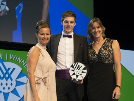 Scott scoops Athlete of the Year award