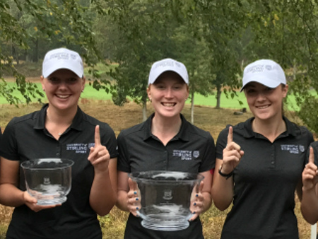 Stirling's female golfers make history in the United States