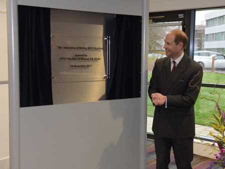Royal visit on 50th anniversary opens new £6.5m Stirling student facility