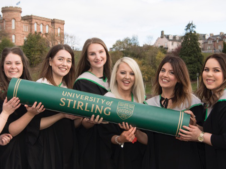 Stirling graduates honoured at ceremony in Inverness
