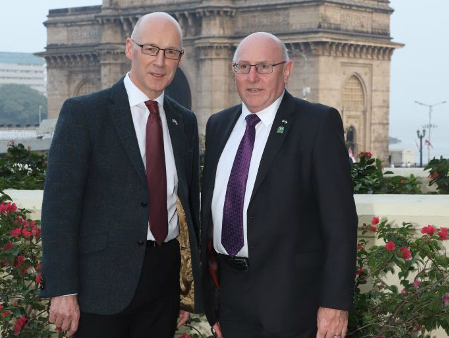 Deputy Principal joins India mission to promote Scottish higher education