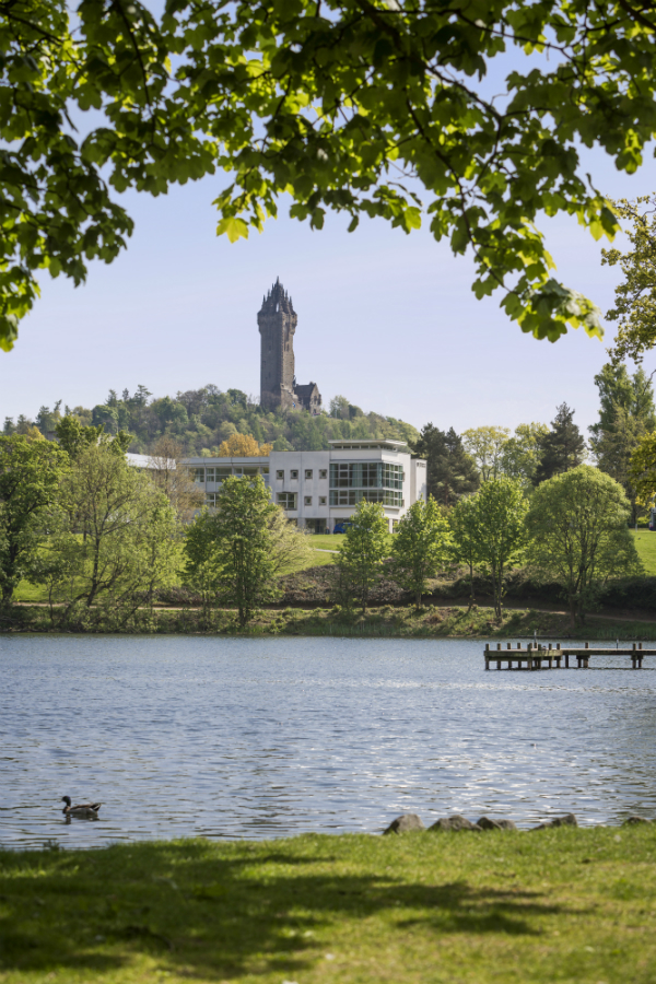 An image of Stirling University Campus