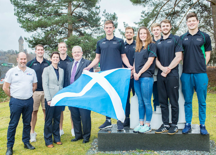 Team Scotland athletes
