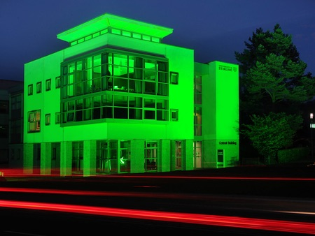 University goes green in support of mental health campaign