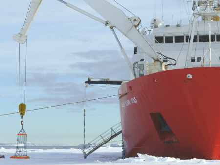 Stirling expert leads research expedition to the Arctic