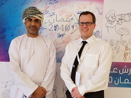 University of Stirling management expert plays part in Oman's future