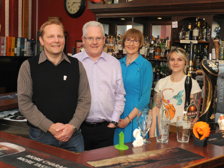 Stirling toasts its inaugural Pint of Science event