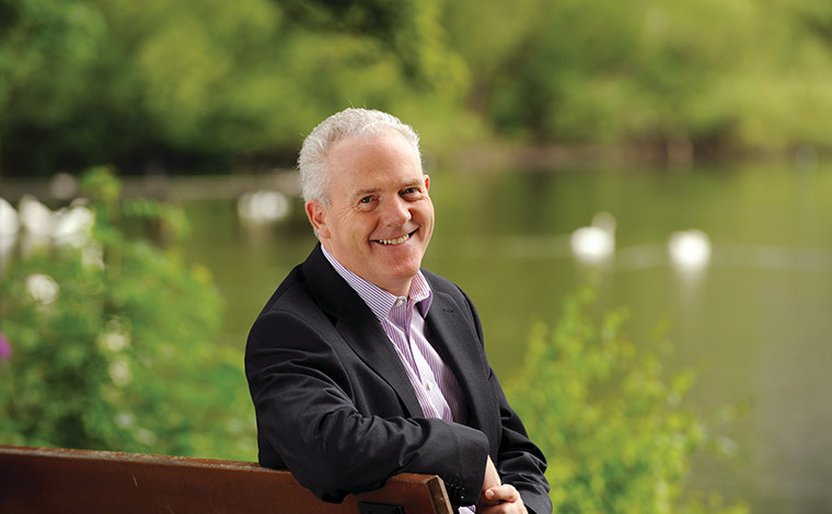 The University of Stirling Principal, Professor Gerry McCormac