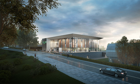 UofS Sports Centre CGI June 2018