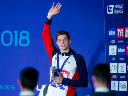 Swimmers make a splash at opening weekend of Euro Champs