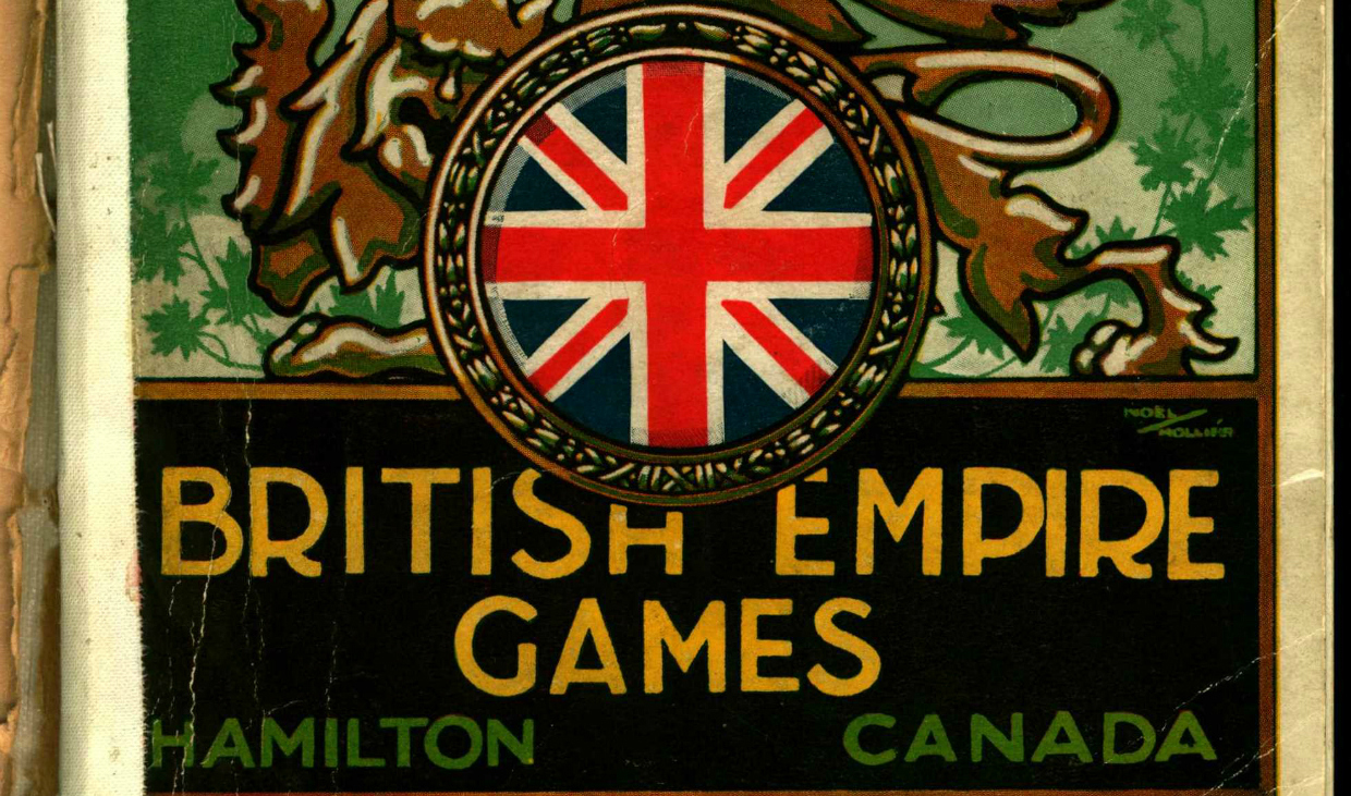 Programme from British Empire Games