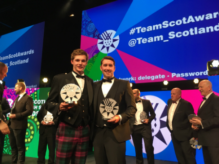 Stirling duo recognised at Team Scotland Awards
